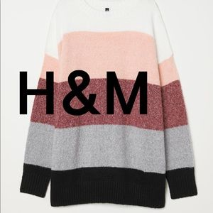 H&M | DIVIDED Striped Sweater